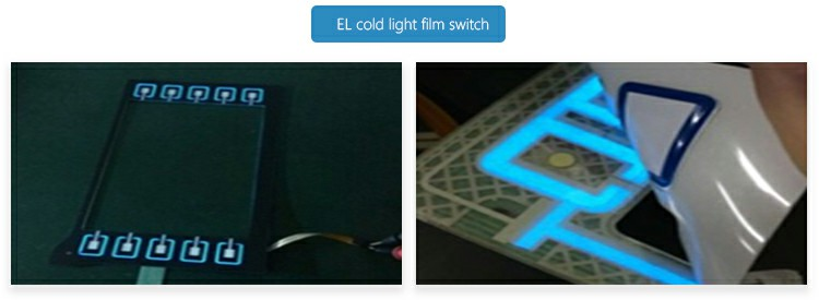 EL cold light film switch